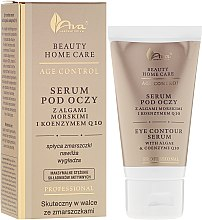 Parfumuri și produse cosmetice Ser pentru ochi - Ava Laboratorium Beuty Home Care Eye Contour Serum With Algae & Coenzyme Q10