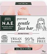 Parfumuri și produse cosmetice Săpun pentru față - N.A.E. Purezza Gentle Face Bar