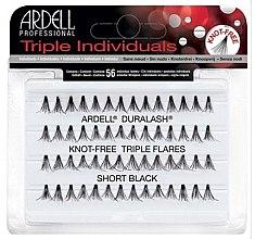 Parfumuri și produse cosmetice Set de gene individuale - Ardell Triple Individual Short Black
