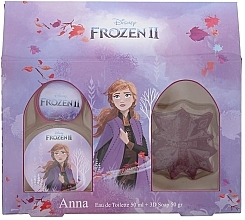 Parfumuri și produse cosmetice Disney Frozen II Anna Gift Set - Set (edt/50ml + soap/50ml)