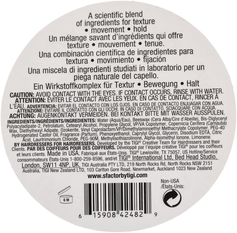 Ceară modelatoare pentru păr - Tigi Creamy Molding Wax — Imagine N3