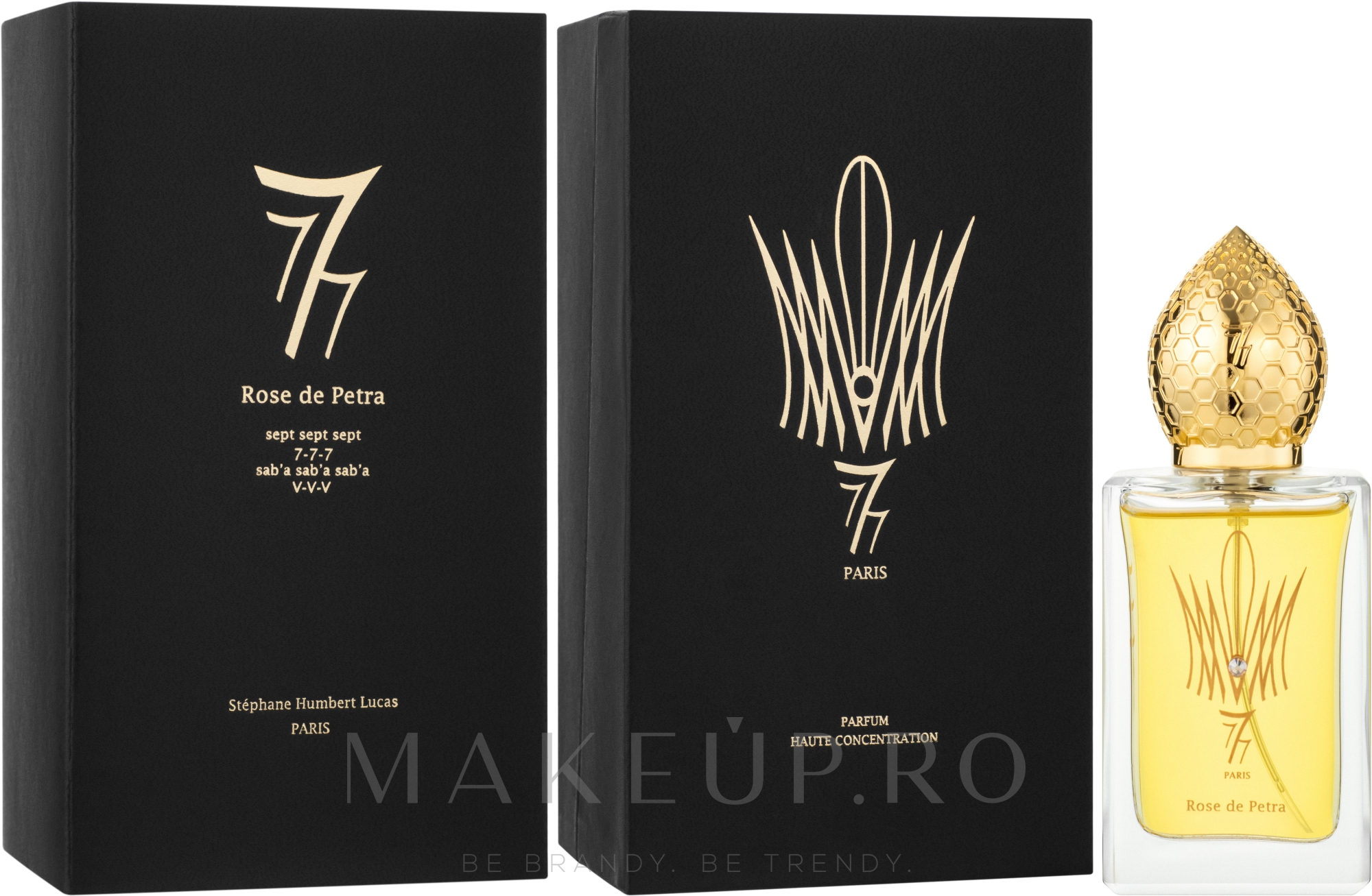 Stephane Humbert Lucas 777 Rose de Petra - Apă de parfum — Imagine 50 ml