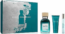 Parfumuri și produse cosmetice Adolfo Dominguez Agua Fresca Citrus Cedro - Set (edt/120ml + sh/gel/75ml + edt/10ml)