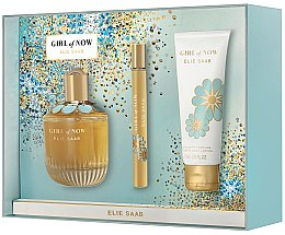Parfumuri și produse cosmetice Elie Saab Girl of Now - Set (edp/90ml + edp/10ml + b/lot/75ml)