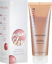 Parfumuri și produse cosmetice Mască hidratantă pentru față - Lancaster Instant Glow Peel-Off Pink Gold Mask