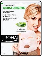 Parfumuri și produse cosmetice Masca folie de față - Iroha Nature Moisturizing Aloe Tissue Face Mask