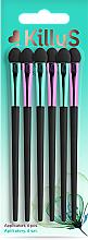 Parfumuri și produse cosmetice Set aplicatoare lungi, 6 buc - Killys Botanical Inspiration Applicators