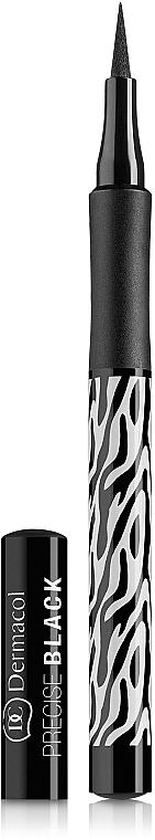 Eyeliner - Dermacol Black Sensation Precise black