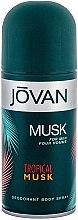Parfumuri și produse cosmetice Jovan Tropical Musk - Deodorant