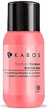 Parfumuri și produse cosmetice Soluție pentru îndepărtarea ojei - Kabos Nail Polish Remover