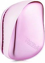 Parfumuri și produse cosmetice Perie de păr - Tangle Teezer Compact Styler Baby Doll Pink Chrome
