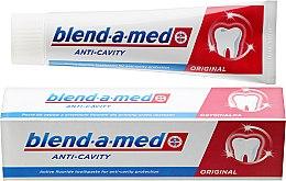 """Parfumuri și produse cosmetice Pastă de dinți """"Anticarii"""" - Blend-A-Med Anti-Cavity Original Toothpaste"""
