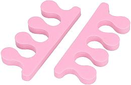 Parfumuri și produse cosmetice Separator degete, roz - Tools For Beauty Toe Separator Pink