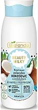Parfumuri și produse cosmetice Lapte de baie și duș - Bielenda Beauty Milky Moisturizing Coconut Shower & Bath Milk