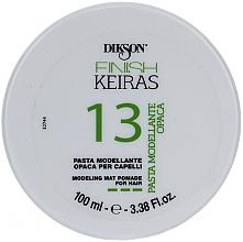 Parfumuri și produse cosmetice Pastă pentru modelarea părului - Dikson Finish Keiras Pasta Modellante Opaca 13