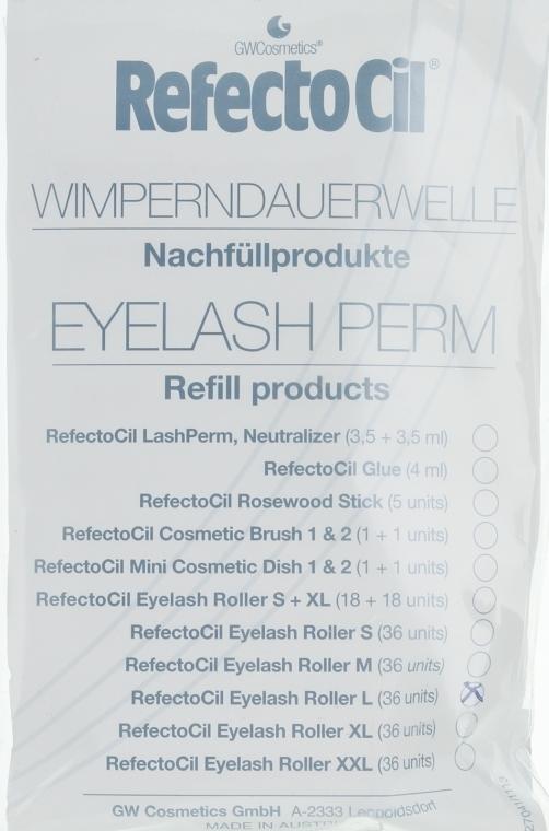 Role pentru ondulare (L) - RefectoCil Eyelash Perm — Imagine N1