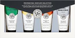 Parfumuri și produse cosmetice Set - The Real Shaving Co. (cr/2x50ml + shave/gel/50ml + scr/50ml)