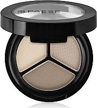 Parfumuri și produse cosmetice Fard pentru pleoape mat - Paese Triple Eyeshadows Trio Matt