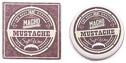 Parfumuri și produse cosmetice Ceară pentru mustață - Macho Beard Company Soft Natural Mustache Wax
