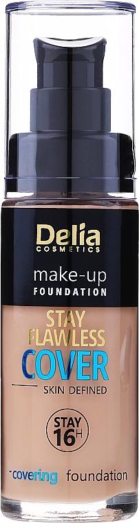 Fond de ten - Delia Cosmetics Stay Flawless Cover