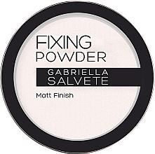 Parfumuri și produse cosmetice Pulbere de fixare - Gabriella Salvete Fixing Transparent Powder