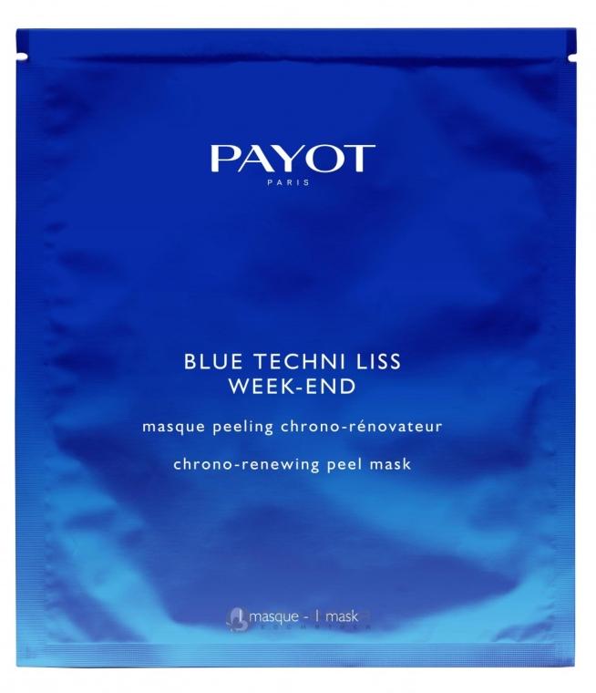 Mască-peeling de față - Payot Blue Techni Liss Week-End — Imagine N1