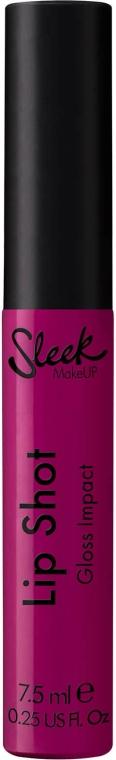 Luciu de buze - Sleek MakeUP Lip Shot Gloss Impact