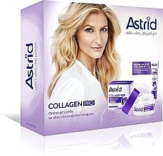 Parfumuri și produse cosmetice Set - Astrid Collagen Pro(cr/50ml+eye/cream/15ml)