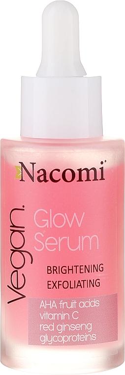 Ser facial - Nacomi Glow Serum Brightening & Exfoliating Serum