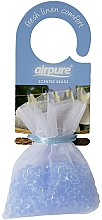 """Parfumuri și produse cosmetice Perle parfumate """"Freshness"""" - Airpure Scented Beads Home Collection Fresh Linen Comfort"""