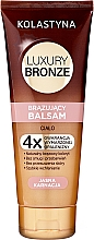 Parfumuri și produse cosmetice Balsam autobronzant pentru piele deschisă la culoare - Kolastyna Luxury Bronze Balm