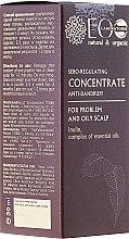 Parfumuri și produse cosmetice Concentrat sebo-regulator pentru mătreață - ECO Laboratorie