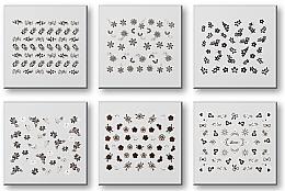 Parfumuri și produse cosmetice Abțibilduri pentru unghii 42935 - Top Choice Nail Decorations Stickers Set