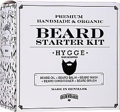 Parfumuri și produse cosmetice Set - Golden Beards Starter Beard Kit Hygge (balm/60ml + oil/30ml + shm/100ml + cond/100ml + brush)