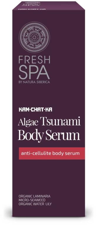 Ser anticelulitic pentru corp - Natura Siberica Fresh Spa Kam-Chat-Ka Algae Tsunami Body Serum — Imagine N1