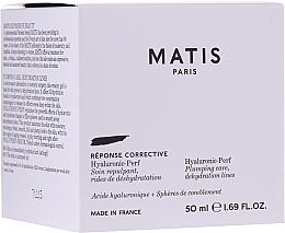 Parfumuri și produse cosmetice Cremă hidratantă și umplătoare pentru față - Matis Hyaluronic-Perf Plumping Care