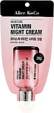 Parfumuri și produse cosmetice Cremă de față - Alice Koco Vitamine Night Cream