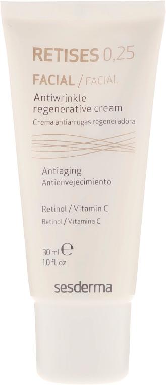 Cremă antirid regenerantă pentru piele matură - SesDerma Laboratories Retises 0.25% Antiwrinkle Regenerative Cream — Imagine N2