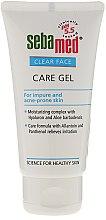 Parfumuri și produse cosmetice Gel de curățare pentru față - Sebamed Clear Face Gel Moisturizing And Soothing Gel
