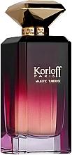 Parfumuri și produse cosmetice Korloff Paris Majestic Tuberose - Apă de parfum