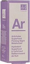 Parfumuri și produse cosmetice Cremă de noapte pentru față - Dr. Botanicals Artichoke Superfood Firming Night Moisturiser