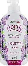 """Parfumuri și produse cosmetice Săpun lichid """"Violă"""" - Parisienne Italia Fiorile Violet Liquid Soap"""