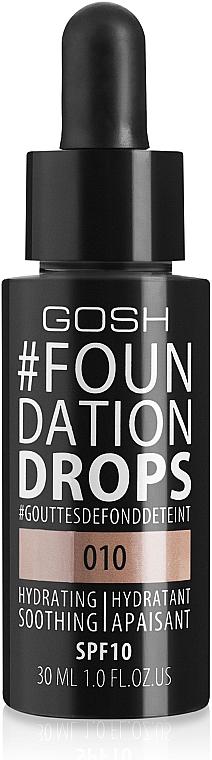 Fond de ten - Gosh Foundation Drops SPF10
