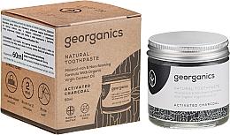 Parfumuri și produse cosmetice Pastă naturală de dinți - Georganics Activated Charcoal Natural Toothpaste