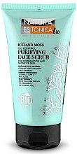 """Parfumuri și produse cosmetice Scrub exfoliant pentru curățarea tenului """"Mușchiul islandez"""" - Natura Estonica Iceland Moss Face Scrub"""