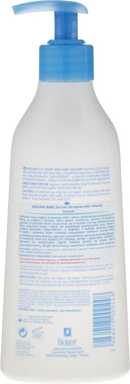Șampon-Gel de duș 2 în 1 - Biolane Baby 2 in 1 Body and Hair Cleanser — Imagine N2