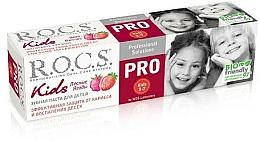 """Parfumuri și produse cosmetice Pastă de dinți """"Fructe sălbatice"""" - R.O.C.S. PRO Kids"""
