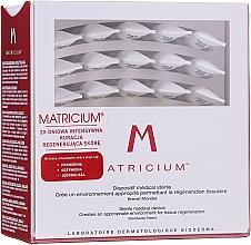 Parfumuri și produse cosmetice Ser pentru păr - Bioderma Matricium 30 Sterile 1ml Single Doses Skin Tissue Regeneration Serum