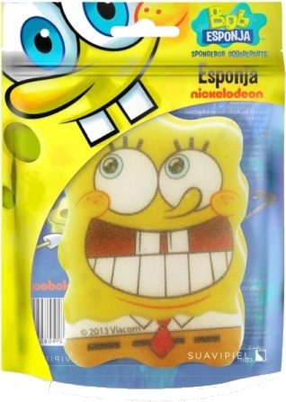 "Burete de baie, pentru copii ""SpongeBob"" 7 - Suavipiel Sponge Bob Bath Sponge — Imagine N1"
