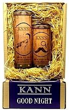 Parfumuri și produse cosmetice Set - Kann Good Night Man (f/n/cr/50ml + eye/cr/15ml)